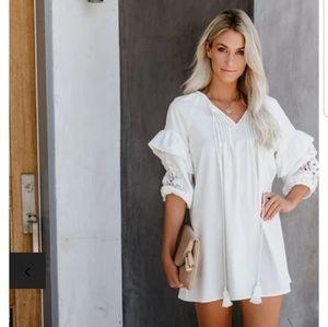 Boho Vici Dolls white tunic